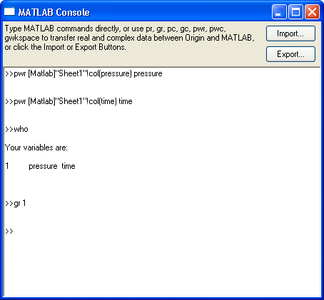 Image:MATLAB Console.png