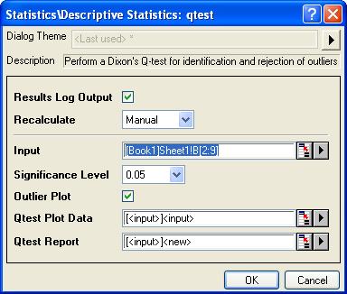 Help Online - Origin Help - Detecting Outliers
