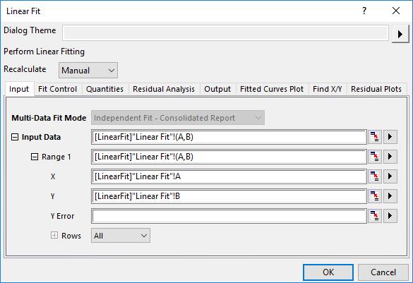 Help Online - Origin Help - Specifying Your Input Data