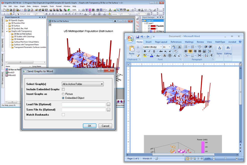 Send graphs to word file exchange originlab screen shot and video ccuart