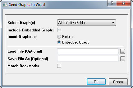 Send Graphs to Word