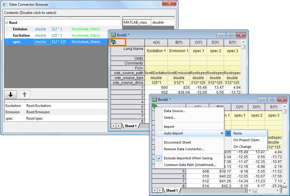 HDF Connector - File Exchange - OriginLab