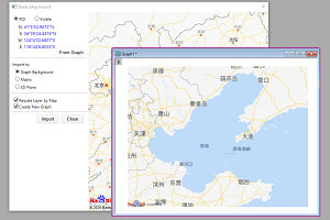 Baidu Map Import
