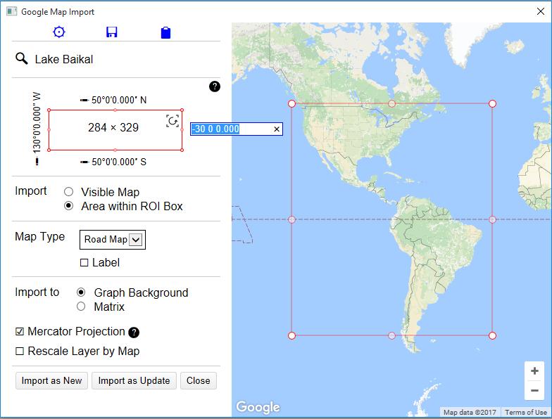 Google Map Import - File Exchange - OriginLab